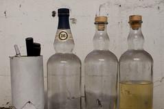 Bottles (Fauxlaroid) Tags: swords armsarmor