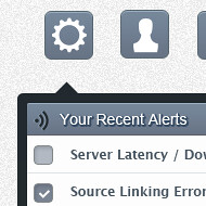 Tooltips Web UI Element PSD