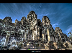 Faces Faces Faces | EXPLORED (Ton Ten) Tags: temple cambodia faces siemreap bayon angkorthom
