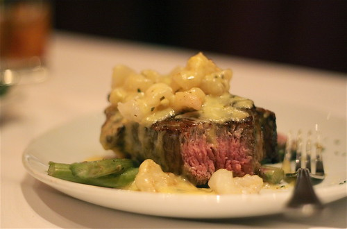 "Fleming's Steakhouse - Bone-in Filet Mignon ""Oscar Style"""