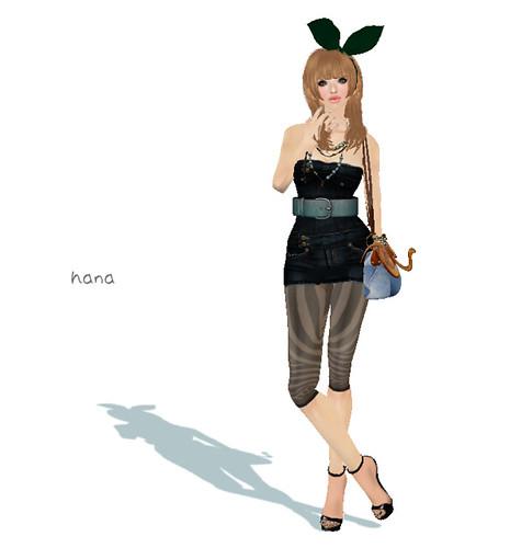 ::HH:: Hucci Tanya Denim Dress - Dark Wash(150L)