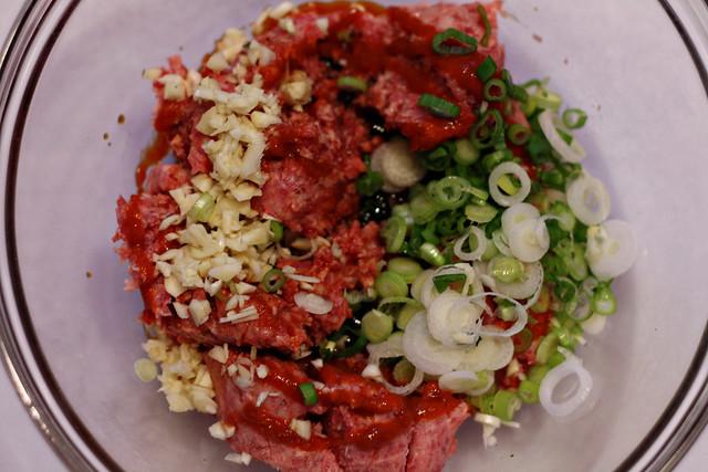 Asian Pork Burgers 1