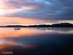 Tauranga, New Zealand (Ed Kruger) Tags: ocean blue sunset red sea newzealand summer sky sun seascape storm reflection water clouds sunrise dark landscape boat waves horizon wave sunny vessel nz northisland southisland kiwi aotearoa allrightsreserved admiralty skyphoto newzealandphoto edkruger photoofocean photoofnewzealand photosofthesky