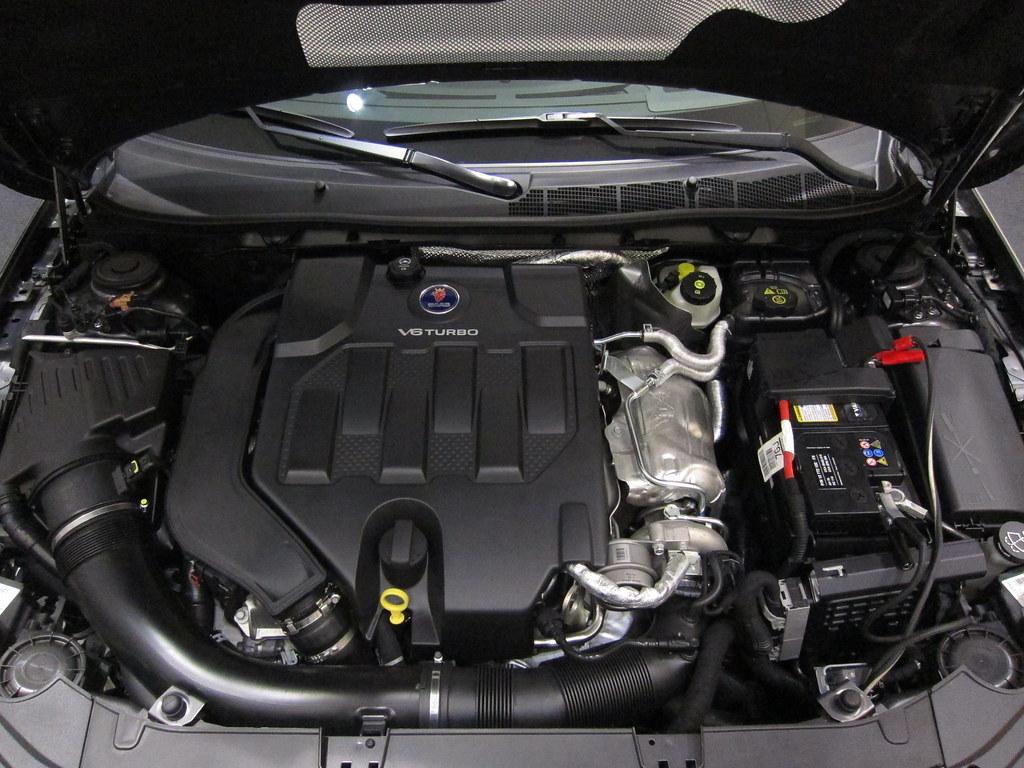 Saab 95 2011 engine