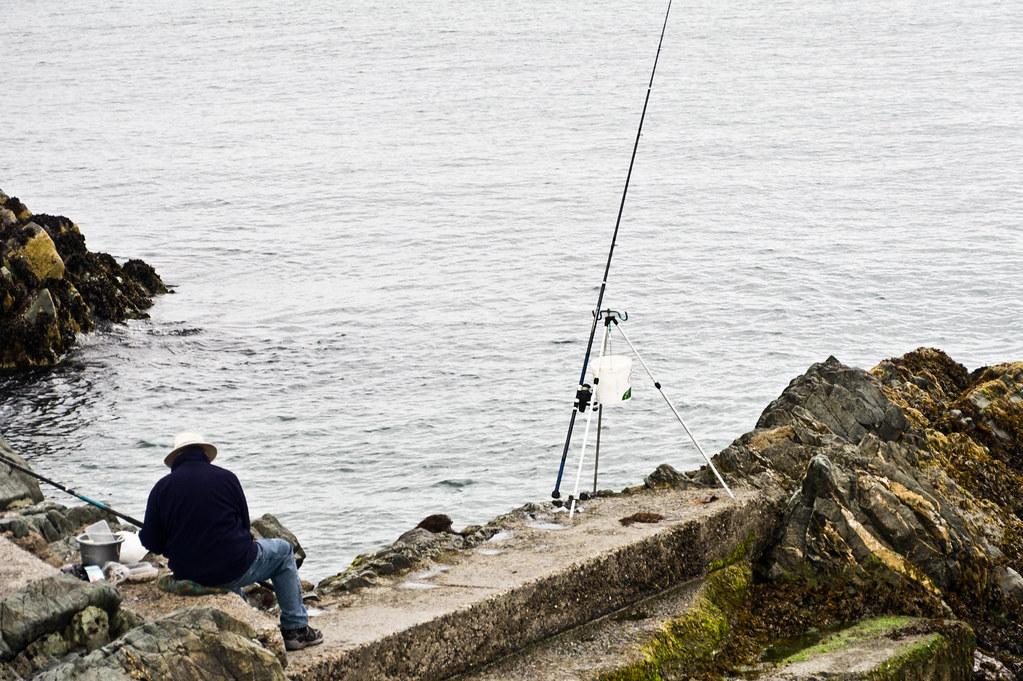 Fishing In Greystones - Ireland