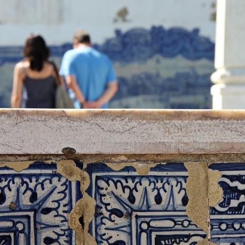 en Lisboa, todo -o casi todo- recuerda a mar