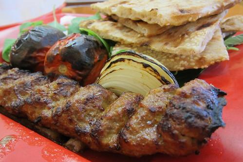 Kabab Mahaleh: Beef Koobideh