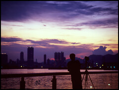 He's got a nice view (eric+x) Tags: 120 mamiya 645 slide fujifilm rvp100 protl