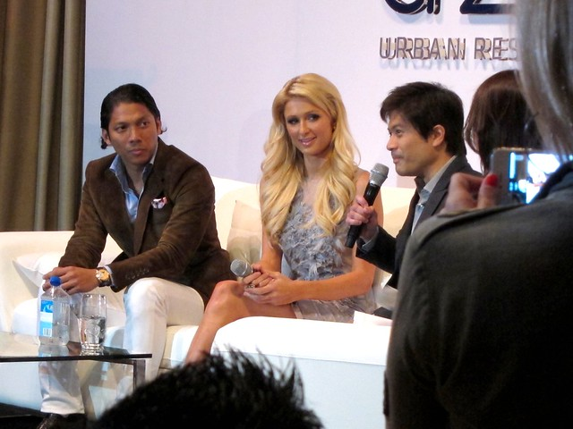 Paris Hilton in Manila