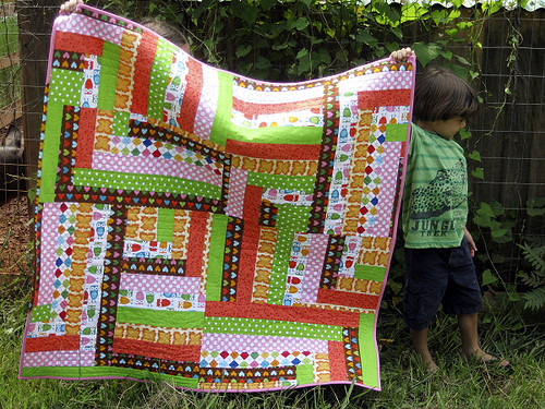 90 Degree quilt pattern