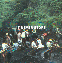 it never stops (Robert Bruce Murray III // Sort Of Natural) Tags: deerhunter itneverstops robertb scannerwork microcastle thirddesign sortofnatural