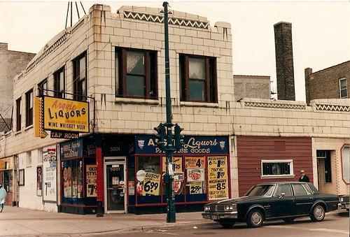 Argyle Liquors 1980s by Jonie Snake