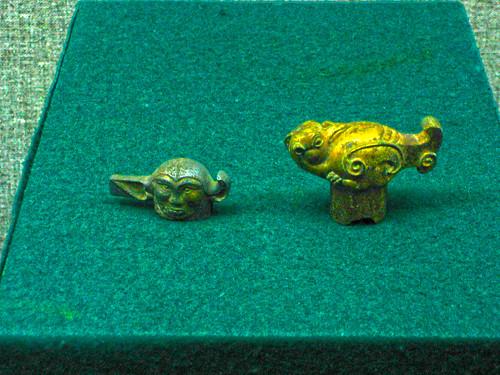 Ornaments from Han Dynasty, Xianyang, Shaanxi, China