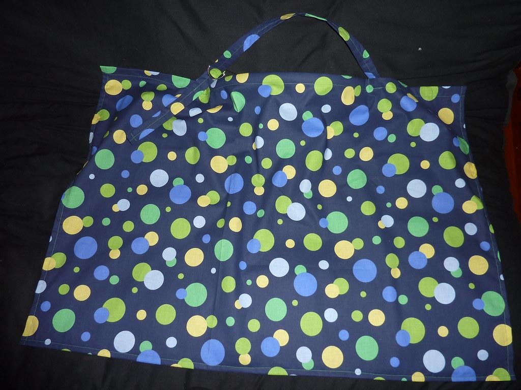 Blue Dots Nursing Cover