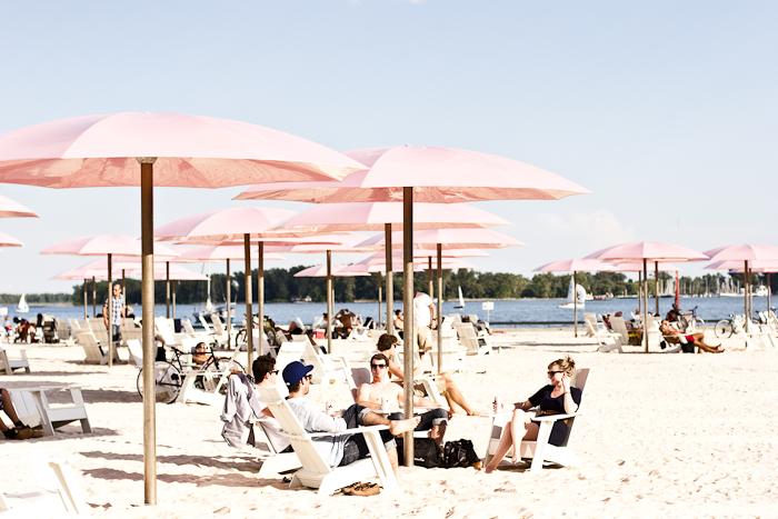 Relax @ Sugar Beach, Toronto