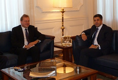 UfMS Secretary General Ahmad Masa'deh receives Danish Ambassador in the UfMS Headquarters (ahmadmasadeh) Tags: ahmad masadeh