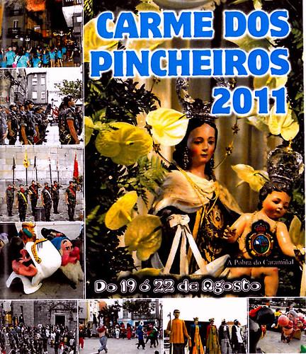 A Pobra do Caramiñal 2011 - Carme dos Pincheiros - cartel
