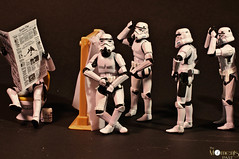 Waiting to pee.. (louisa827) Tags: camera toy starwars stormtroopers plastic actionfigures stormtrooper august19