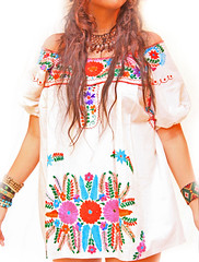 Hippie Love Mexican embroidered mini dress off shoulder (Aida Coronado Galeria) Tags: travel woman art beach colors girl fashion vintage mexico clothing colorful dress designer handmade folk traditional moda artesanal frida mini clothes septiembre mexican dresses oaxaca romantic hippie chic etsy boho ethnic gypsy vacations bohemian maxi whimsical indigenous etnico beachwear bohochic mexicandress mexicoart mexicantextiles mexicanclothes artfrommexico aidacoronado aidacoronadocom hechoamanoenmexico mexicanmaxidress bohofolk