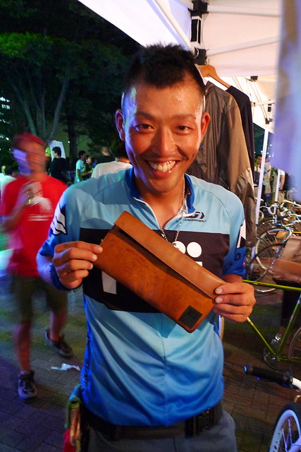 Matudo, with his JBP Leather Tool Bag