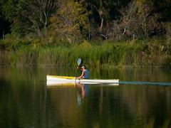 Kayak paddling (tord75) Tags: texas houston clearlake bayarea 2011 bayareapark armandbayou