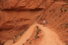 Steve on the Trail (alykat) Tags: park utah canyon national bryce brycecanyon brycecanyonnationalpark stevekress t2i navajolooptrail canonefs18135mmf3556is
