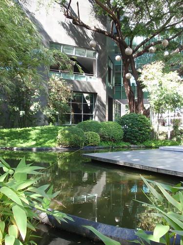 Ayala museum garden