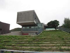 Lots of interestingly-designed buildings at Hyeri, Paju (blueoceanpalm) Tags: hyeri 헤이리예술마을