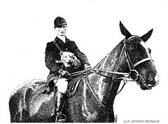 THE SECOND WHIP (Norfolkboy1) Tags: england norfolk foxhunting stipple penink rapidograph pointillism originaldrawing newtonbycastleacre panthonybromage williamhenryogilvie secondwhip herberthowell