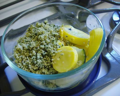 couscous and squash