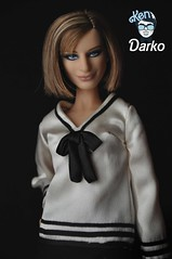 Barbra Streisand Doll / Mattel 2009 (Ken darko) Tags: black doll label barbie collector barbra streisand