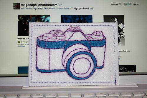 Camera Postcard