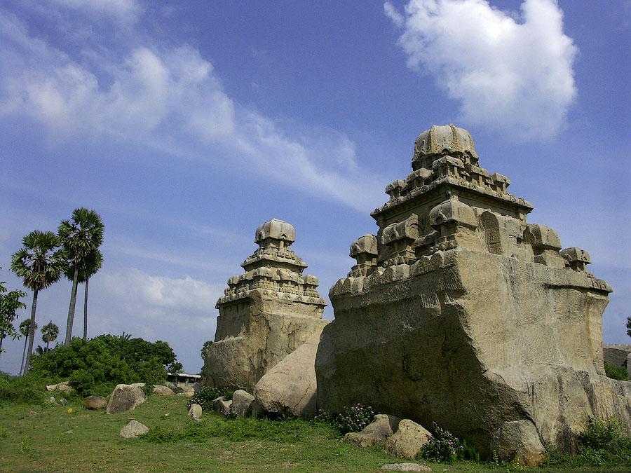 Мандапа. Мамаллапурам (Махабалипурам), Тамил Наду, Индия © Kartzon Dream - авторские путешествия, авторские туры в Индию, тревел видео, фототуры