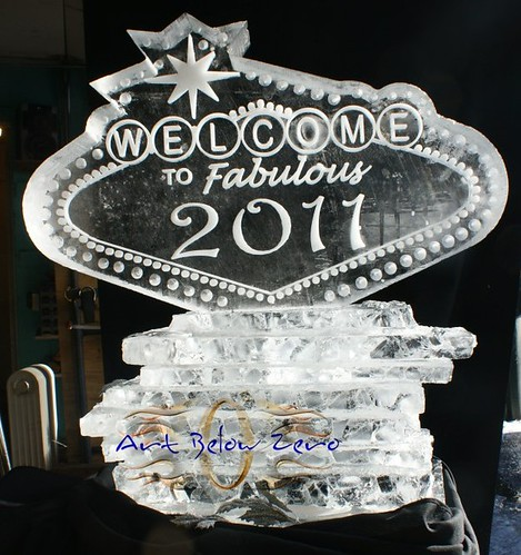 Welcome to Fabulous 2011 ice sculpture