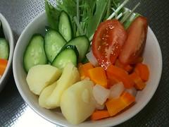 朝食サラダ(2011/8/26)