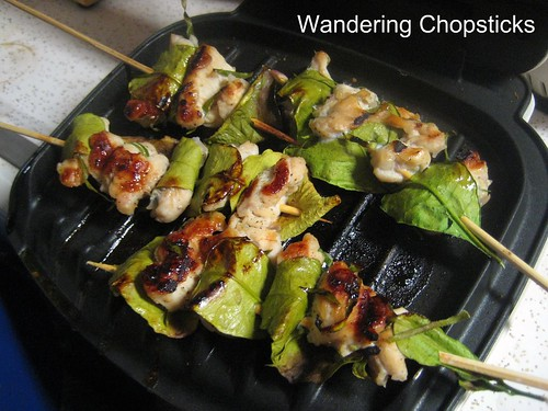 Ga Nuong La Chanh (Vietnamese Grilled Chicken in Kaffir Lime Leaves) 12