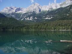 Lago di Tovel: Egyptské noční vody pod masívem Brenta