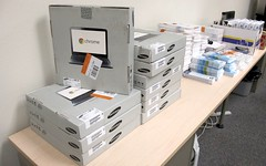 First Batch of Chromebooks for Redmond