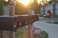 Day 238/365: Mail Flare (Jacob Brcic) Tags: sun project glare jake mail jacob flare boxes 365 brcic jbrcic
