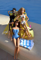 Tarde de piscina. (Sandra) Tags: vintage flickr sandra ooak barbie patio explore honey lara tropical hybrid pe mattel aa 007 tanned alvinailey rsula outdors pivotal honeyryder penlopecruz mbili headmold facemold sandra sandraflickr sandraflickr