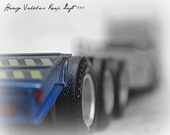 Heavy Vehicles Keep Left !!!...................EXPLORE (tamahaji) Tags: truck dof 124 vehicles di keep kampung left heavy hati balik diecast revell jalanraya berhati