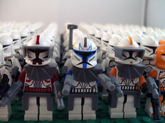 Clone Trooper-army (Lego.Skrytsson) Tags: trooper army star lego many wars clone