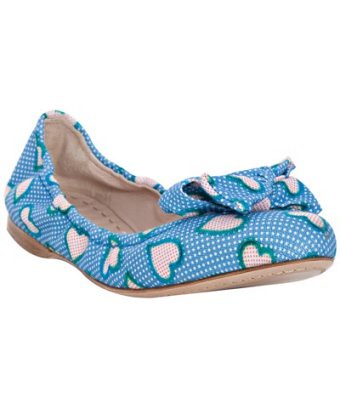 miu_miu_blue_dotted_heart_fabric_Bow_Detail_Flats_blueflys_blog_flypaper