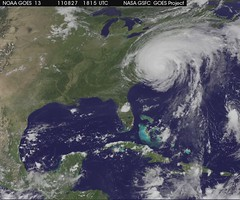 Good Night Irene [hd video] (NASA Goddard Photo and Video) Tags: hurricane nasa irene hurricaneirene satelliteviewofearth