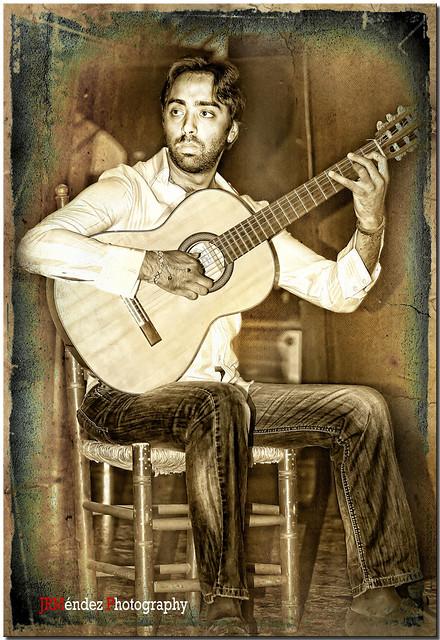 A la guitarra ....