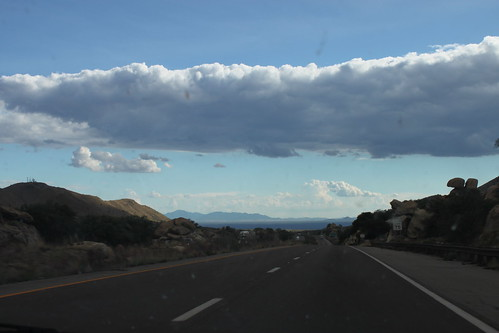 road clouds