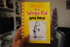 hehe loved this series c: (-mandyyy) Tags: kid diary books wimpy