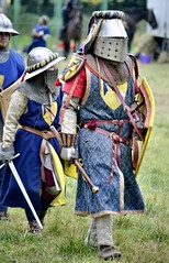 Medieval knights (The Adventurous Eye) Tags: history o medieval knights knight warrior reenactment reenactors rosice srdce pan rytsk rytskklnosrdcedvekapan kln dvek