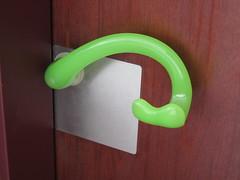 Centre de congrs (Ulna system) Tags: les de porte mains sans contamination poigne hygine
