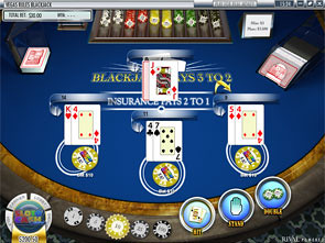 Blackjack Multi-Hand Rival Rules